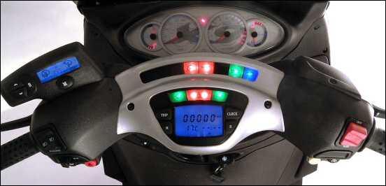 piaggio x9 500 evolution instruments