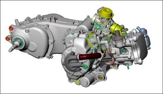 vespa 250cc engine